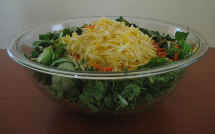 ... enjoy summer squash. Rick especially loves summer squash in his salad